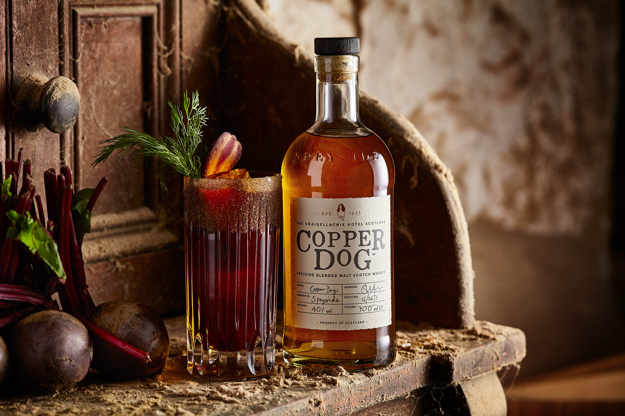 Hair Of The Dog Cocktail, Copper Dog Whisky