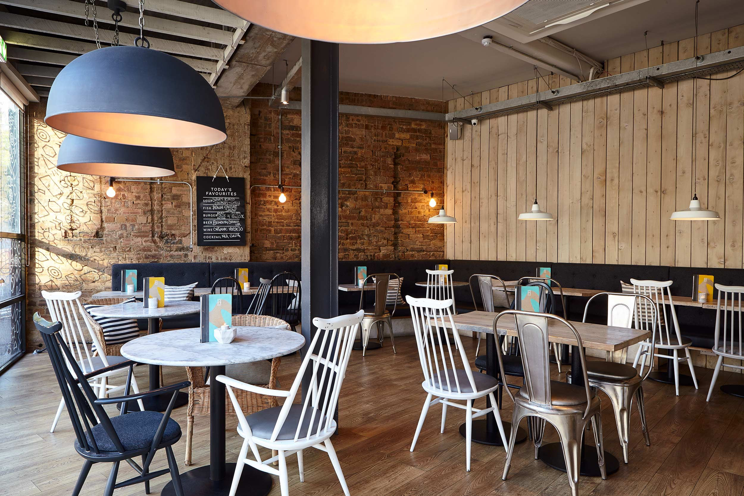 Herringbone Restaurant Interior, Edinburgh Goldenacre