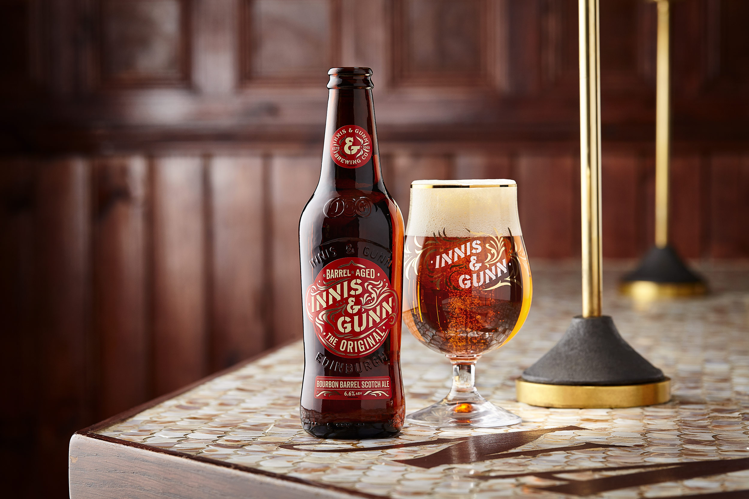The Original Innis & Gunn Ale, Edinburgh drinks photographer