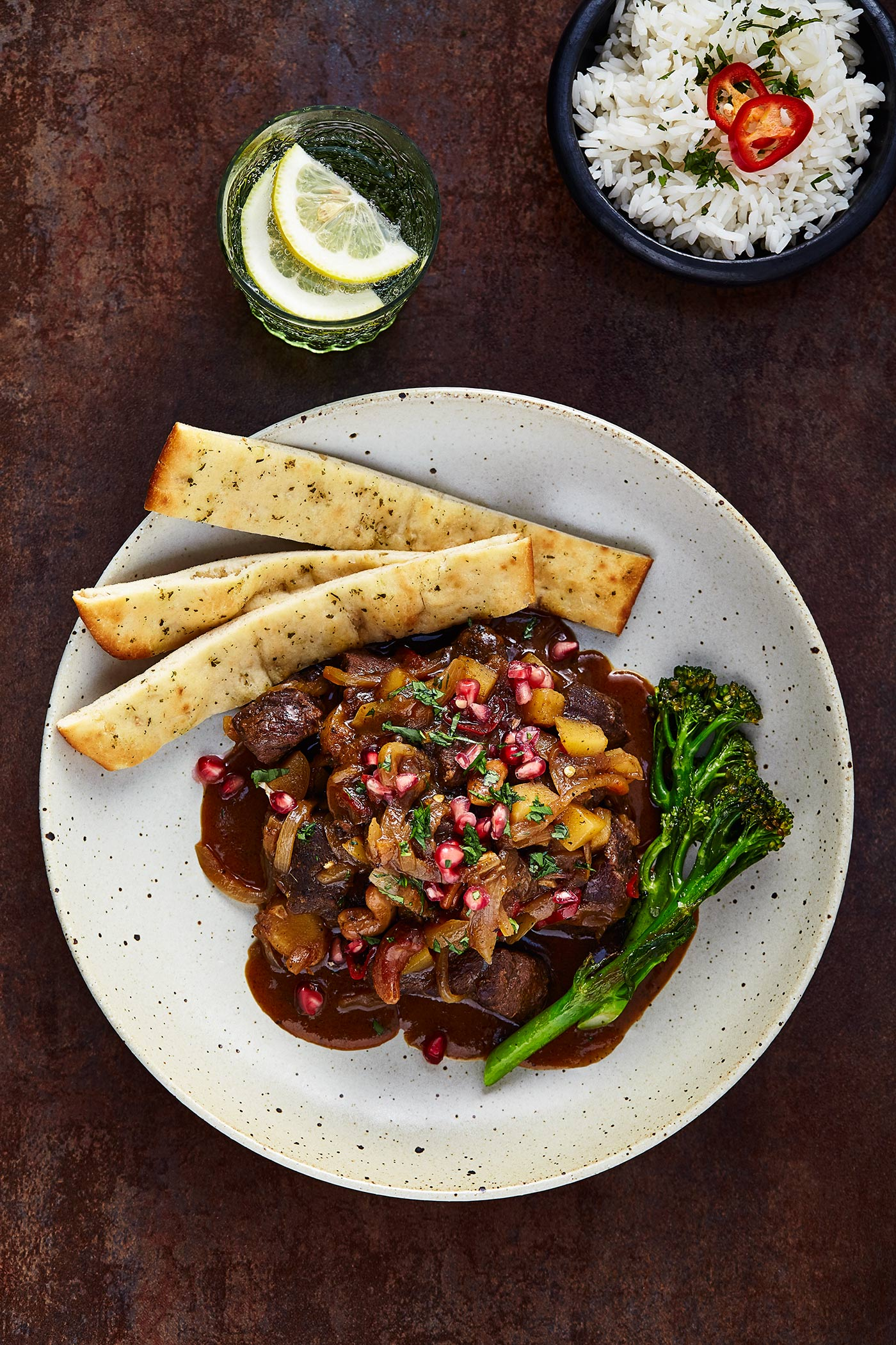 Massaman Venison Curry, Hebridean Food Company, Glasgow food photographer
