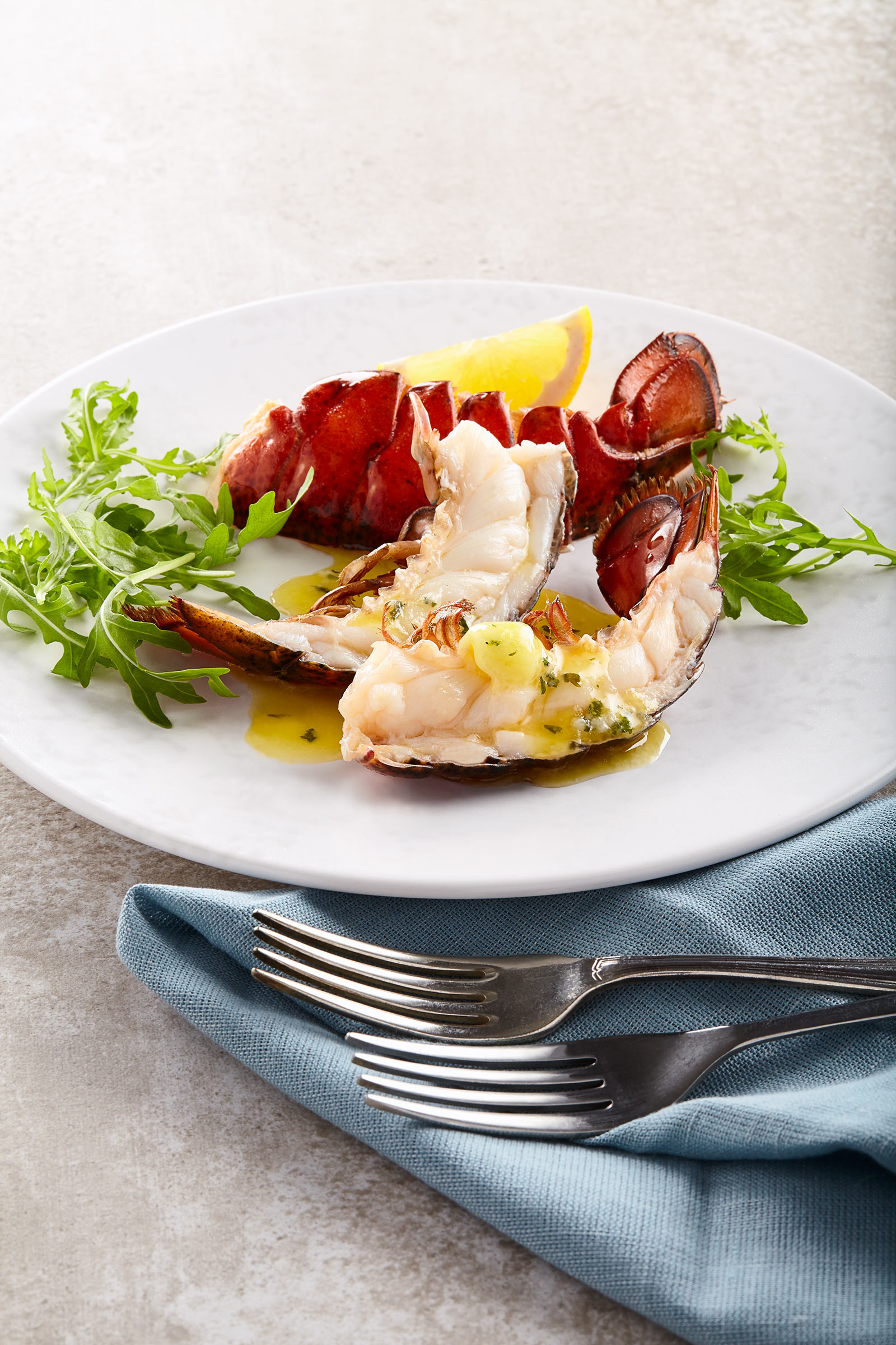 Roast Lobster Champagne Butter, Waitrose, ScottishShellfish, Edinburgh food photographer