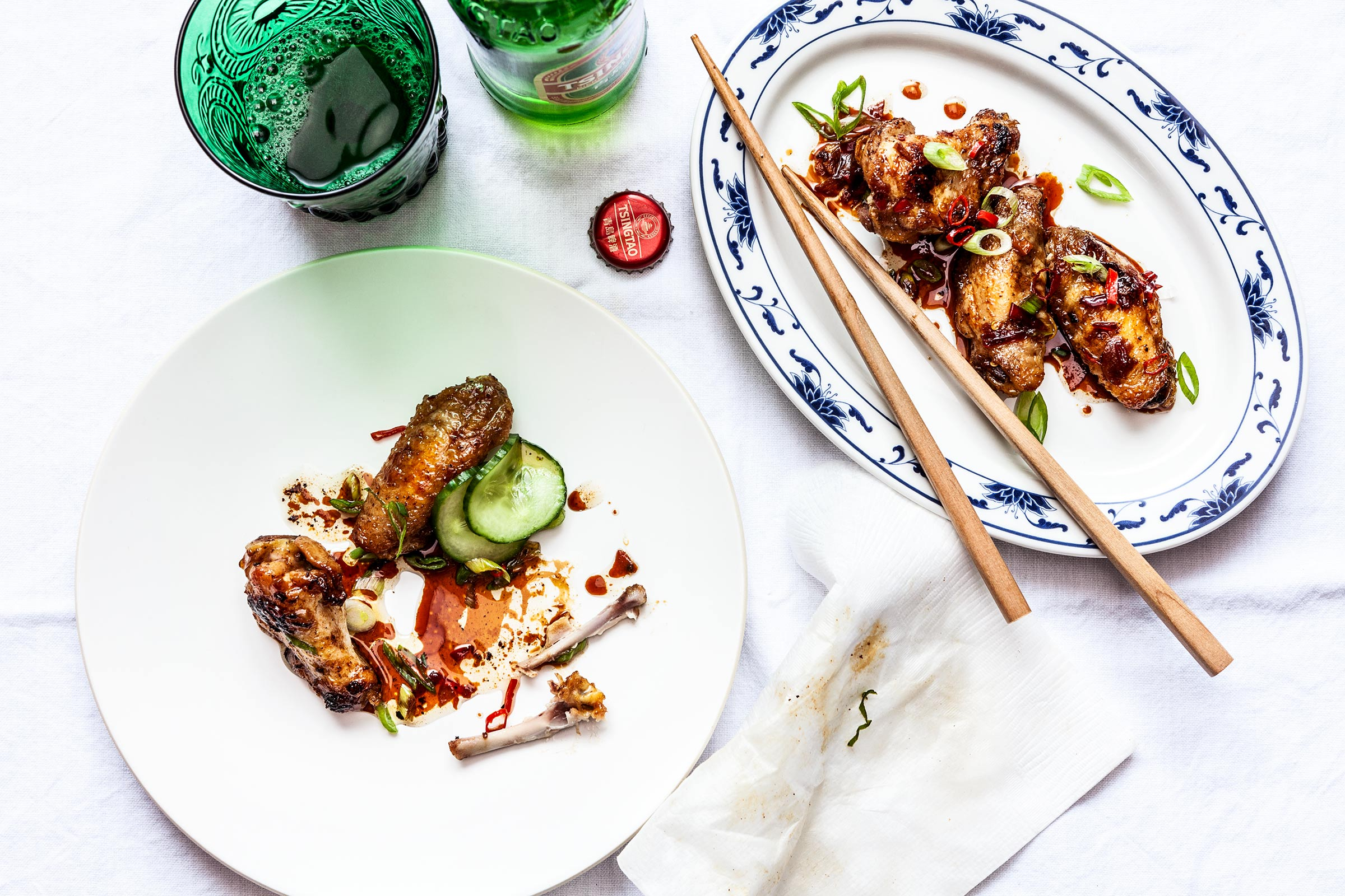 Soy, Chilli and Sesame Chicken Wings