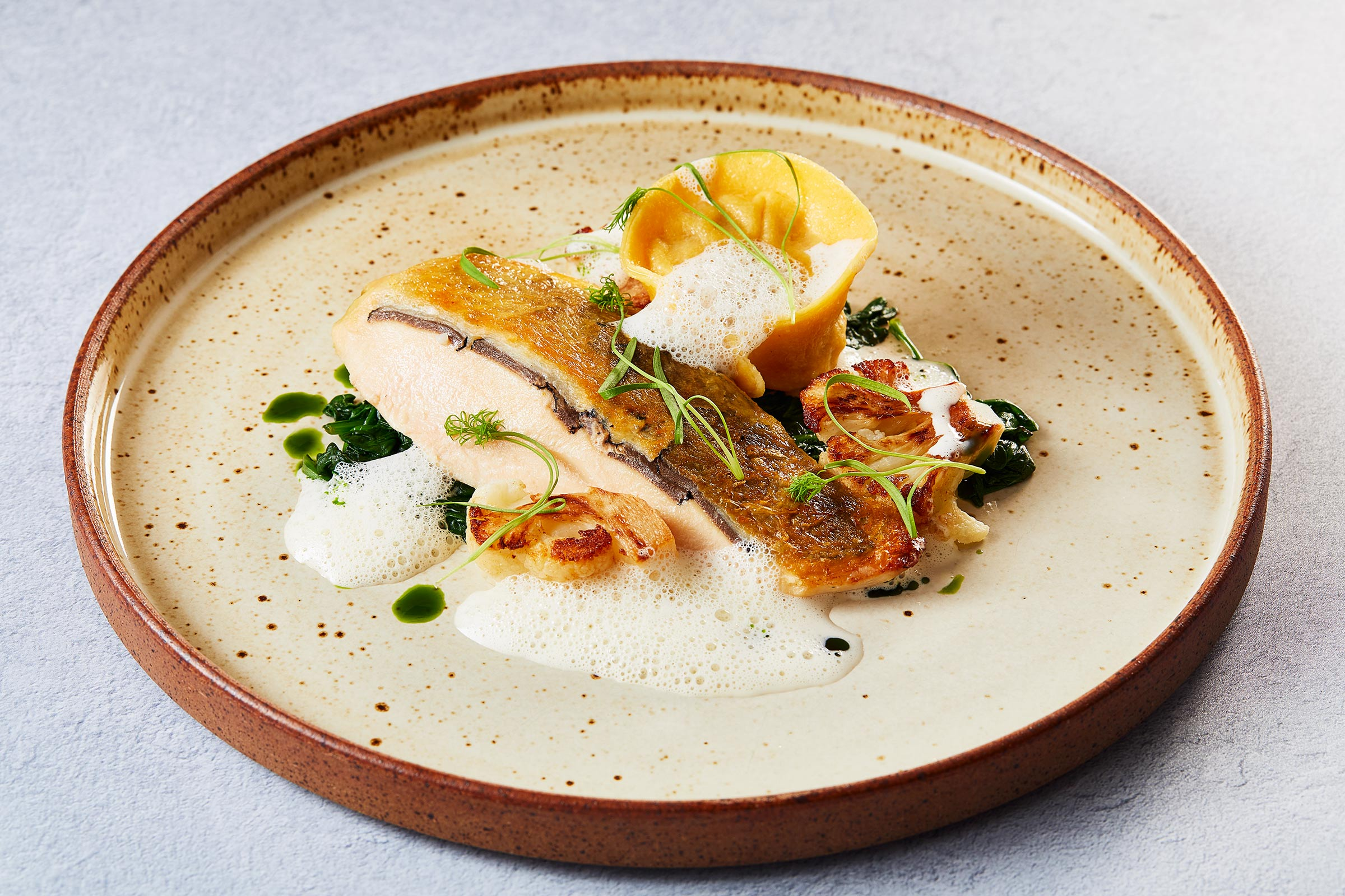 Truffled Breast Of GuineaFowl, Fingal Hotel, restaurant photographer Edinburgh